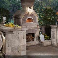 The Chicago Brick Oven Bundle. Build the enclosure of your dreams in brick or stone to complement your individual style.