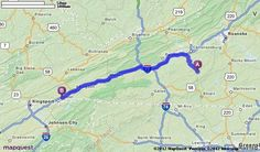 Driving Directions from 120 Wilson St SE, Floyd, Virginia 24091 to 169 Linden Dr, Bristol, Virginia 24202 | MapQuest