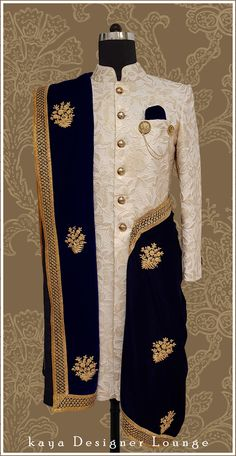 Traditional Wear Sherwani Ethnic Wear Groom Sherwani Achkan Kurta Groom Outfit D… - Wedding Makeup Mens Wedding Wear Indian, Sherwani For Men Wedding, Mens Indian Wear, Wedding Dresses Men Indian, Sherwani Groom, Wedding Dress Men, Indian Men Fashion, Indian Dresses, Wedding Groom