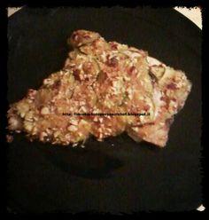 Filetti di Orata in crosta di Zucchine e Mandorle