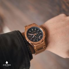 AS DE PIQUE Master rosegold is back in stock with even better price. Dont waste your time go to www.asdepique.de and take your peace on the time.