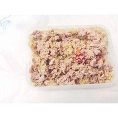 #lunch #almoço #quinoa #tuna #mealpreap #marmita