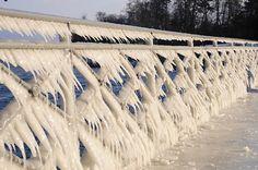 Icy Geneva, Switzerland, Feb 2012