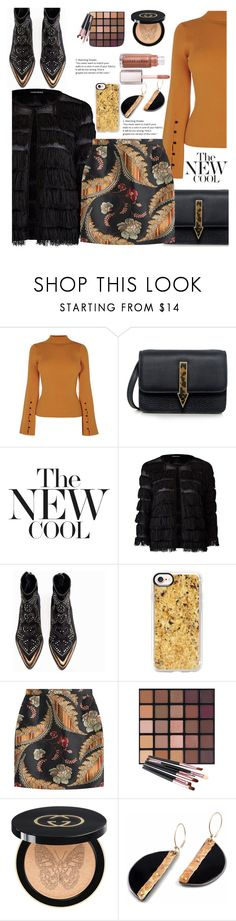 """""""Untitled #955"""" by pesanjsp ❤ liked on Polyvore featuring Mohzy, Zadig & Voltaire, Casetify, Dsquared2 and Gucci"""