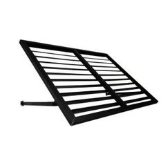 Beauty-Mark 5 ft. Bahama Metal Shutter Awning (24 in. H x 24 in. D) in Black OH22-5K at The Home Depot - Mobile