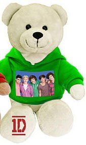 One Direction 9-in Collectible Bear - Group Photo - Green - 1D - $29.95