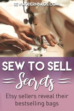 Top 20 bags, purses and wallets that can make you money - Sew Modern Bags Sewing To Sell, Sewing Tips, Sewing Hacks, Sewing Ideas, Sewing Projects, Etsy Business, Business Help, Online Business, Bag Patterns To Sew