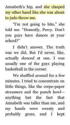 I was reading titans curse when I found this. Because even then, Percy never doubted that Annabeth could/would judo-flip him if she ever had a reason to