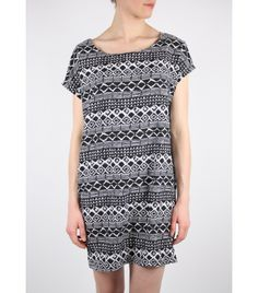 Each and Every Day Print Dress, S - WST.fi