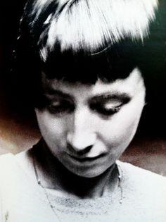 terrilcscott:  Hannah Höch, portrait detail, Unter den Linden, Berlin Mitte