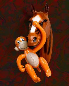 """Horse Whisperer"" / Mr. Ed > do you know this TV comedy series with the talking horse from the sixties? #rolandfaesser #horsewhisperer #mred #talkinghorse #tvseries #sixties #trophy #horse #monkey #inflated #popart #sculpture #contemporarysculpture #contemporaryart #wallart #figurativeart #wallpaper Comedy Series, Comedy Tv, Contemporary Art, Contemporary Sculpture, Sculpture Painting, Figurative Art, Pop Art, Sculptures"