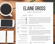 Simple Resume Template / Resume Design Instant Download for Word / Resume / Professional Resume package by SuccessTools on Etsy