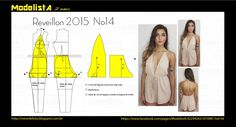 Portuguese site with illustrations showing how to alter a standard pant and bodice pattern to create this cute romper.