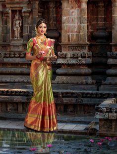 Kanchipuram Silk Saree - South Indian Bridal look