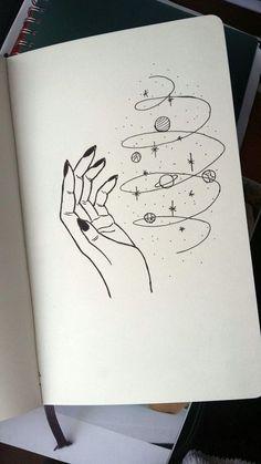 Magic universe leticia board в 2019 г. art drawings, art sketches и pencil Space Drawings, Cool Art Drawings, Pencil Art Drawings, Art Drawings Sketches, Doodle Drawings, Easy Drawings, Disney Drawings, Cute Drawings Tumblr, Tattoo Sketches