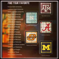 #CampusCollection 20 teams. Pick from #GalleryCollection to put your frame on. http://madilynboothe.scentsy.us