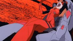 End of evangelion asuka Screaming
