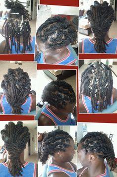 dread grooming, repair and style