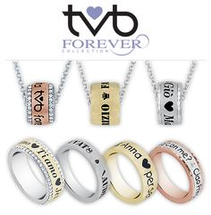 Artlinea TvB e TvB Forever!!! Tanti modi di dire Ti Voglio Bene!  Scegli quello che più ti piace e personalizzalo come desideri!
