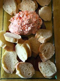 Smoked salmon and cheese spread