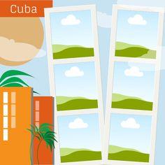 Cuba Vacation. Click here to remix this design: https://www.canva.com/design/DAAgKjxB_AQ/remix