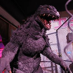 Godzilla Experience Video with Cast and Crew Members -- Director Gareth Edwards visits the exhibit at San Diego Comic-Con along with stars Bryan Cranston, Aaron Taylor-Johnson, and Elizabeth Olsen. -- http://wtch.it/6Clgp