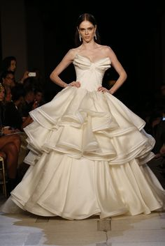 Yes I'd like this very much!   Zac Posen RTW Spring 2013 - Runway, Fashion Week, Reviews and Slideshows - WWD.com