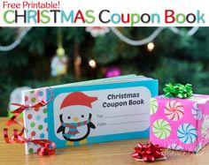 Free Christmas Coupon Book for Kids via Organizing Homelife