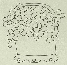 Wool Garden BOM - Violets Pattern WB-501