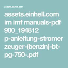 assets.einhell.com im imf manuals-pdf 900_194812 p-anleitung-stromerzeuger-(benzin)-bt-pg-750-.pdf