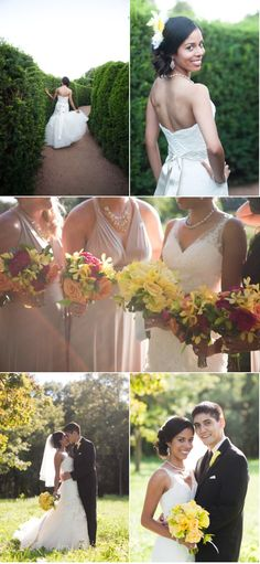 Removable straps, ceremony and reception