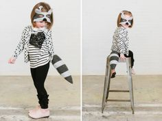 The cutest animal masks by @Jess Liu Near with Opposite of Far that encourage imagination and play for kids!