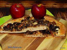 Moje Małe Czarowanie: Pizza z jabłkiem i kaszanką