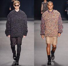 HERCHCOVITCH;ALEXANDRE 2014 Winter Mens Runway Collection - São Paulo Fashion Week Brazil - Inverno 2014 Homens Desfiles - Dark Post-Apocaly...