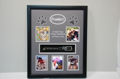 """16"""" x 20"""" Dog Memorial """"Braddock"""" What a cute looking dog.  He looks like he had a lot of joy in his life.  R. I. P."""