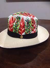 b8328e380e0ec Resultado de imagen para sombreros de mujer pintados