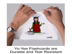 Verb Flashcards for Kids