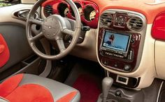 Custom PT Cruiser Interior | ... pt cruiser interior 400 x 266 27 kb jpeg chrysler pt cruiser car 640