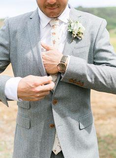 Natural Al Fresco Wedding