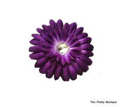 Hair Flowers Adult/Children Dark Purple £2 #hairaccessories #flower #adult #children #darkpurple #purple #fashion #accessories