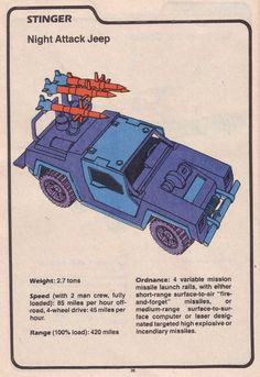 Cobra's Stinger (Night Attack Jeep)