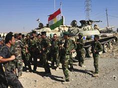 """عاجل مليشيات من """"البيشمركة"""" و ال PKK تقتحم كركوك بقيادة مسعود بارزاني !"""