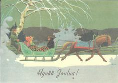 Christmas Illustration, Illustration Art, Illustrations, Christmas Cards, Merry Christmas, Scandinavian Christmas, Vintage Postcards, Childrens Books, Fairy Tales