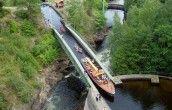 Akvedukten med båten Dalsland
