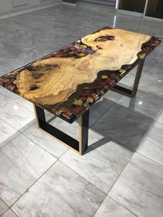 Mustafa Gök's Resin and Wood Ensemble - Popular Woodworking Magazine Woodworking With Resin, Woodworking Shows, Popular Woodworking, Woodworking Furniture, Woodworking Projects, Woodworking Plans, Youtube Woodworking, Woodworking Basics, Woodworking Supplies