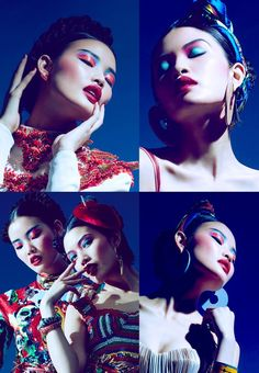 MARIE CLAIRE HK - FASHION EDITORIAL APRIL 2013 by Marian Woo, via Behance
