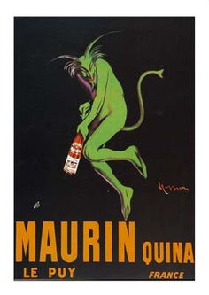 French Advertising Poster Maurin Quina Cappiello by FolieduJour, $4.50