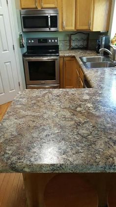 Pictures Of Kitchens With Winter Carnival Countertops