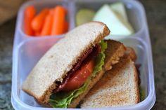12 Kid-Inspired School Lunch Ideas - Including an avocado BLT