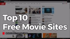 Top 10 Free (and LEGAL) Movie Streaming Sites Online - YouTube
